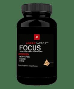 Focus, a popular supplement containing Super 5 DHEA